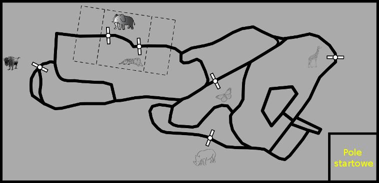 Mapa ZOO - wersja poglądowa