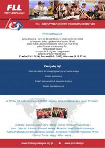 FLL - ulotka 2014